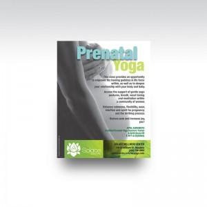 PrenatalYoga flyer